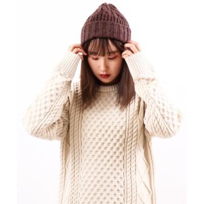 FUNALIVE / 【SI Original】ウール&アルパカ混アクリルニットキャップ MEN 帽子 > ニットキャップ/ビーニー