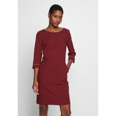 エスオリバー レディース ワンピース トップス KURZ - Day dress - burgundy burgundy