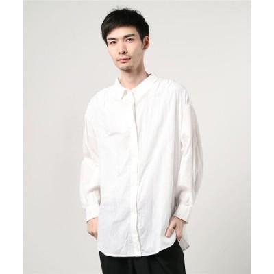 シャツ ブラウス R JIBILLIE 2Way Shirts Stripe