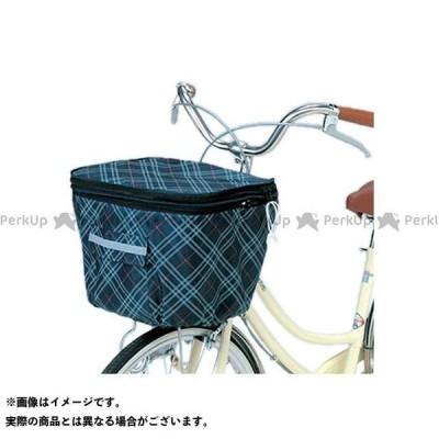 【雑誌付き】kawasumi その他 2段式前カゴカバーKW-256F ネイビーCH 川住(自転車)