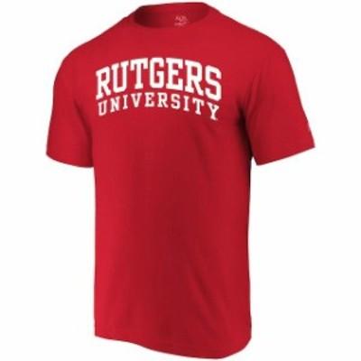 Alta Gracia アルタ グラシア スポーツ用品  Alta Gracia (Fair Trade) Rutgers Scarlet Knights Scarlet Arched Wordmark
