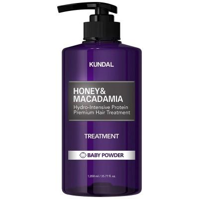 【KUNDAL】プロテイン ヘアトリートメント ベビーパウダーの香り500ml1 / トリートメント / / Kundal