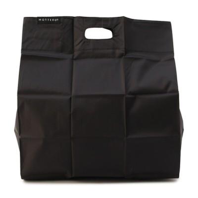 メンズ ポケットエコバッグ ブラック