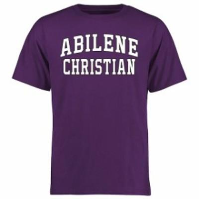 Fanatics Branded ファナティクス ブランド スポーツ用品  Abilene Christian University Wildcats Purple Everyday T-