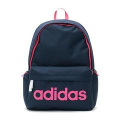 adidas(アディダス)【セール】アディダス リュックサック adidas スクールバッグ リュック デイパック 通学 バッグ スクール スポーツ 23L レディース メンズ 中学生 高校生 47892 ネイビーxピンク(03)