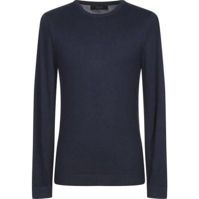 リウジョー LIU JO MAN メンズ ニット・セーター トップス sweater Dark blue