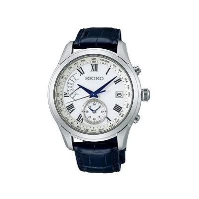 [セイコーウォッチ] 腕時計 ブライツ SAGA311 メンズ ブラック (文字盤:ホワイト)