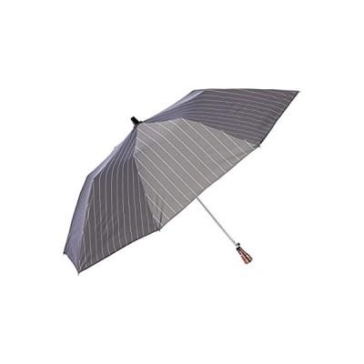 [ムーンバット] Dunamis ドゥナミス 紳士 折りたたみ傘 遮光 遮熱 UV 軽量 雨晴兼用 熱中症予防 グレー 日本 親骨の長さ55cm (F