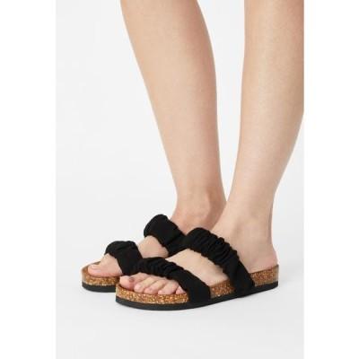 レディース 靴 シューズ ONLMAXI STRAP - Mules - black