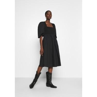 ゲタス レディース ワンピース トップス CHRISTIN DRESS - Day dress - black black