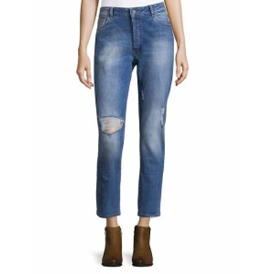 DL1961 プレミアムデニム レディース パンツ デニム High-Rise Distressed Jeans