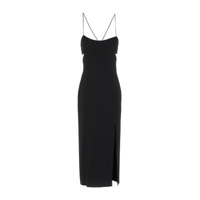 BEC & BRIDGE 7分丈ワンピース・ドレス ブラック 10 ポリエステル 95% / ポリウレタン 5% 7分丈ワンピース・ドレス
