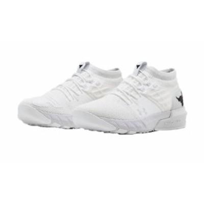 アンダーアーマー メンズ プロジェクト ロック2 UA Project Rock 2 Training Shoes トレーニングシューズ White/White