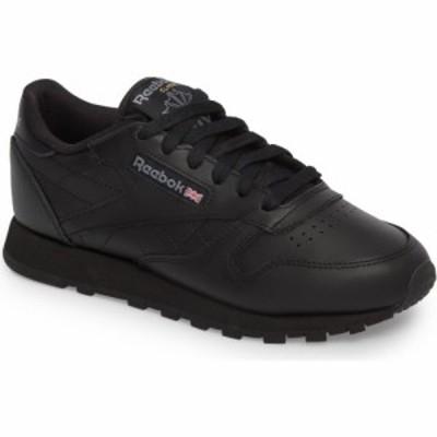 リーボック REEBOK レディース スニーカー シューズ・靴 Classic Leather Sneaker Us Black