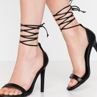 レディース サンダル RACHEL - High heeled sandals - black