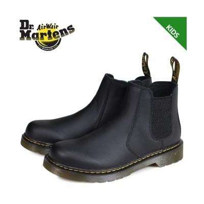 【スニークオンラインショップ】 ドクターマーチン Dr.Martens バンザイ サイドゴア チェルシーブーツ キッズ CORE KIDS BANZAI ブラック 黒 R16708001 ユニセックス その他 UK11-19.0 SNEAK ONLINE SHOP