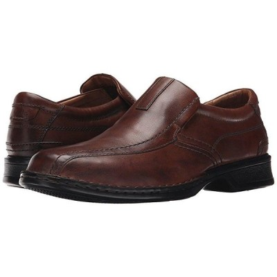 クラークス Escalade Step メンズ ローファー Brown Leather