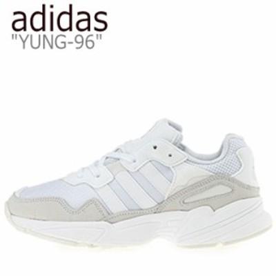 アディダス スニーカー adidas メンズ レディース YUNG-96 ヤング 96 WHITE ホワイト EE3682 シューズ