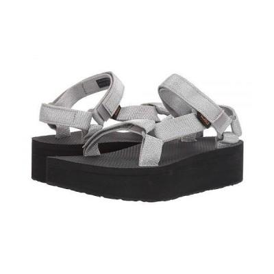 Teva テバ レディース 女性用 シューズ 靴 サンダル Flatform Universal - Metallic Silver