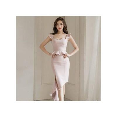 パーティードレス オルチャン 韓国 ドレス 結婚式 ドレス お呼ばれ フォーマル パーティー ドレス ドレス 20代 30代 40代