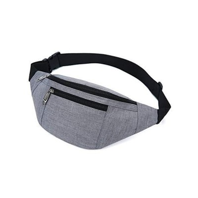 Fanny Pack for Men & Women Fashion 防水 Waist Packs with Adjustable