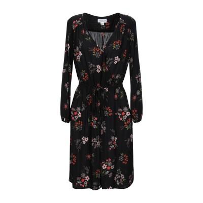 VELVET by GRAHAM & SPENCER ミニワンピース&ドレス ブラック S レーヨン 100% ミニワンピース&ドレス