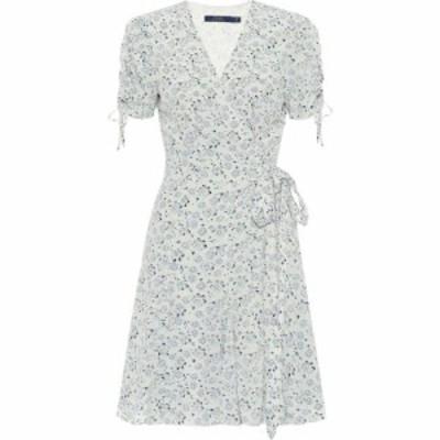 ラルフ ローレン Polo Ralph Lauren レディース ワンピース ラップドレス ワンピース・ドレス Floral crepe wrap dress WHITE