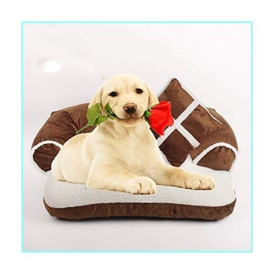 YUIOLIL Warm Soft Plush Pet Bed,Thick Plush Kennel,Improved Sleep Removable Clean Anti-Slip,Suitable for Small Medium Pet