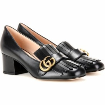 グッチ Gucci レディース パンプス シューズ・靴 Marmont leather loafer pumps Nero