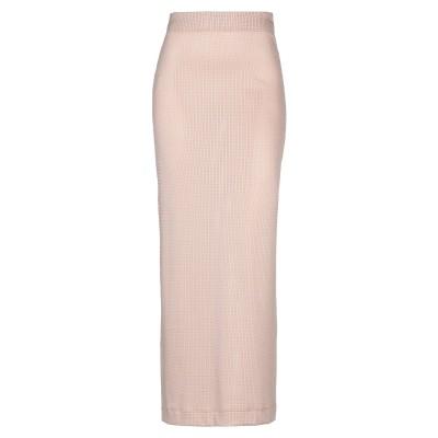 FISICO ロングスカート ローズピンク M ナイロン 85% / ポリウレタン 15% ロングスカート
