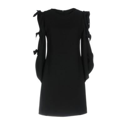 ピンコ PINKO ミニワンピース&ドレス ブラック 38 100% ポリエステル ミニワンピース&ドレス