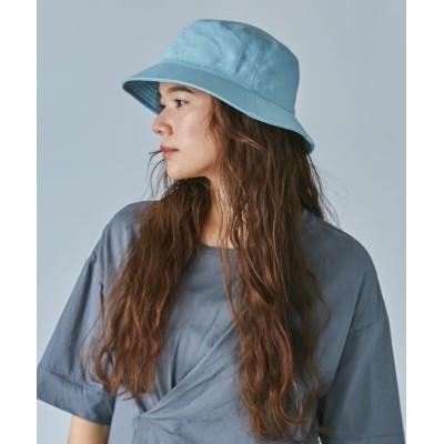 【オーバーライド】 OVERRIDE COTTONTWILL BUCKET HAT レディース ライト ブルー 58cm OVERRIDE