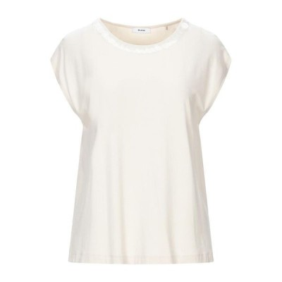 RIANI Tシャツ  レディースファッション  トップス  Tシャツ、カットソー  半袖 アイボリー
