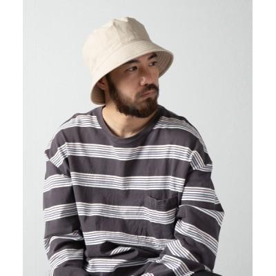 Ray's Store / C/L Down Brim Huge Bucket Hat / コットンリネンダウンブリムヒュージバケットハット MEN 帽子 > ハット