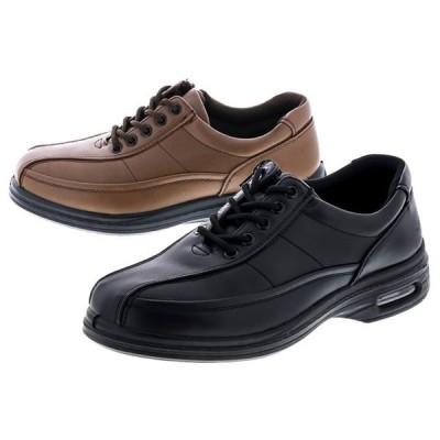 旅日和 ウォーキングシューズ 靴 メンズ 紳士 4E ブラック ブラウン 黒 茶 7816