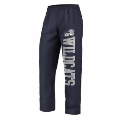 Fanatics Branded ファナティクス ブランド スポーツ用品  Fanatics Branded New Hampshire Wildcats Navy Sideblocker Fleece Pants