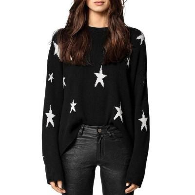 ザディグ エ ヴォルテール レディース ニット・セーター アウター Markus Star Printed Cashmere Sweater