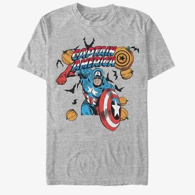 キャプテンアメリカ Tシャツ マーベル Marvel レディース メンズ兼用 ハロウィン 半袖