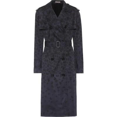 ボッテガ ヴェネタ Bottega Veneta レディース トレンチコート アウター printed trench coat Darg/Grey/Nero