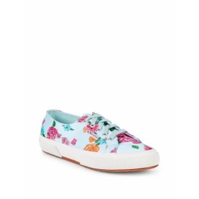 スペルガ レディース シューズ スニーカー Floral Low-Top Sneakers