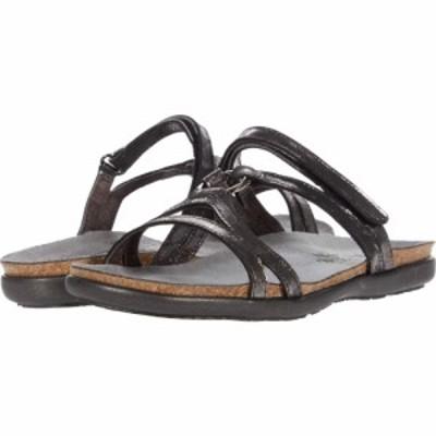 ナオト Naot レディース サンダル・ミュール シューズ・靴 Carmen Metallic Onyx Leather