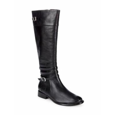 シュッツ レディース シューズ ブーツ Wellington Belted Strap Leather Boots