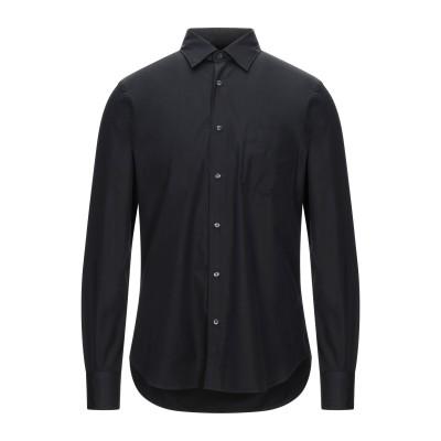 アスペジ ASPESI シャツ ブラック 41 コットン 100% シャツ