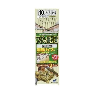 ハヤブサ(Hayabusa) 投げ釣り+α フグの歯対策 投げ五目 8-1.5 NT531-8-1.5