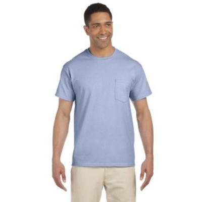 Gildan ギルダン ファッション トップス Gildan Mens 6.1 oz. Ultra Cotton Pocket T-Shirt 5 Pack G230 All Sizes