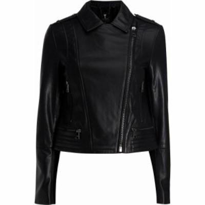 テッドベーカー Ted Baker レディース ジャケット ライダース アウター idda zip biker jacket BLACK
