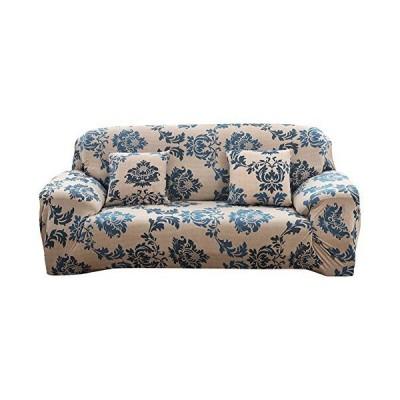 [K sera sera] ソファーカバー 3人掛け 肘あり 肘付き 洗える 北欧 ストレッチ キズ防止【クッションカバー付き
