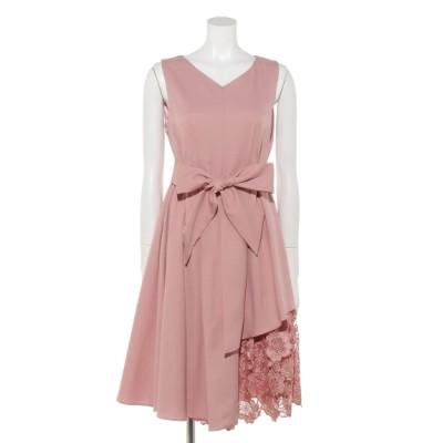 Dorry Doll (ドリードール) レディース アシメ裾レースワンピース ピンク M