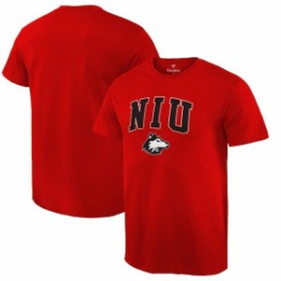 Fanatics Branded ファナティクス ブランド スポーツ用品  Fanatics Branded Northern Illinois Huskies Red Campus T-