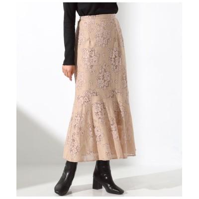 Settimissimo / アンニュイレースフレアヘムスカート WOMEN スカート > スカート